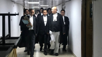 Senior Advocate Abhishek Manu Singhvi at the Supreme Court.