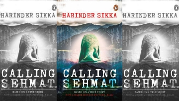 The book cover of <i>Calling Sehmat</i>.