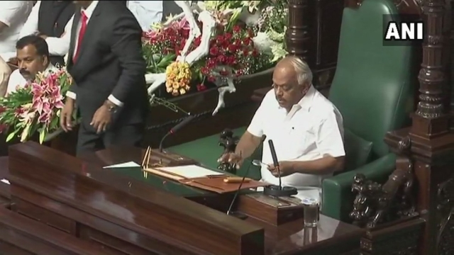 Six-time Congress MLA KR Ramesh Kumar was unanimously elected the Speaker of the Karnataka Assembly.