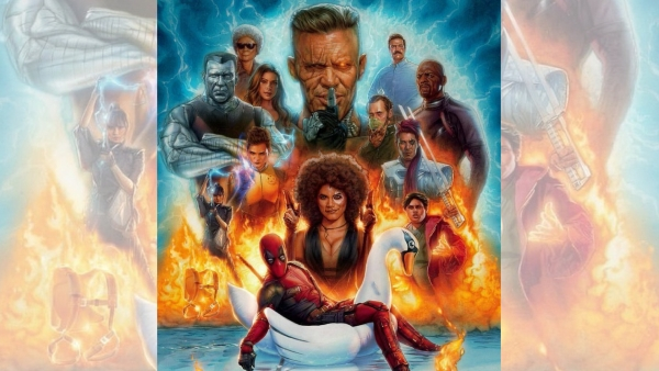 The 'merc with a mouth' is joined by Domino, Bedlam, Shatterstar, Negasonic Teenage Warhead, Colossus, Surge, and Peter Wisdom, among others in 'Deadpool 2'.
