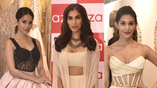 Nushrat Bharucha, Sophie Choudhry and Amyra Dastur pronounce difficult fashion brands only for The Quint.
