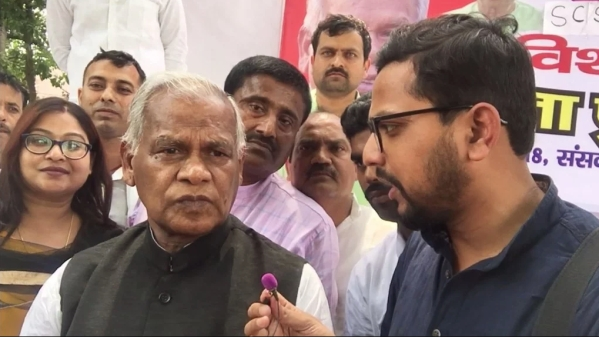 Bihar's former CM Jitan Ram Manjhi speaks exclusively to The Quint.