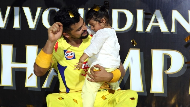 Gracia was awake enough to join the CSK's celebrations.
