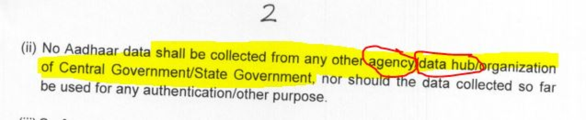 Election Commission's Letter on NERPAP dated 13 August 2015