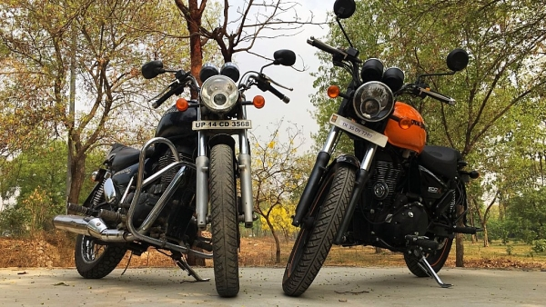 How different is the Royal Enfield Thunderbird 500 X compared to the regular Thunderbird?