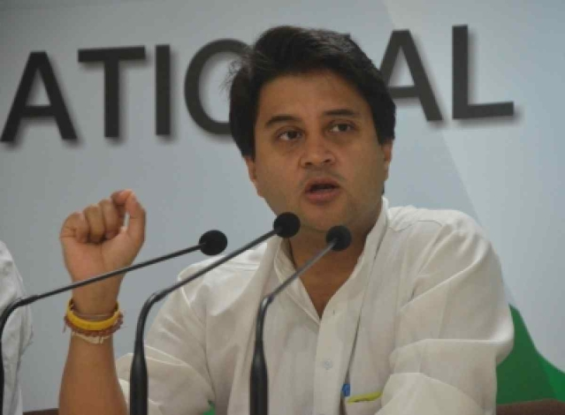 Jyotiraditya Scindia, Member of the Indian National Congress party.