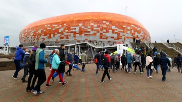 Not quite the tourist town, Saransk was a surprise inclusion in this year's World Cup venues.