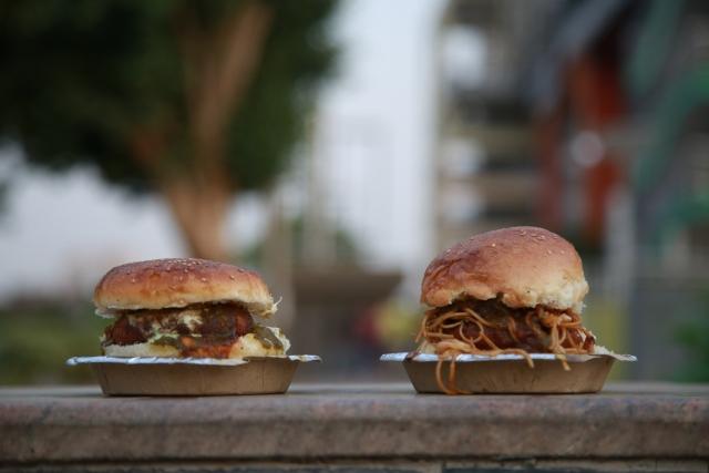 The Chatpata Burger vs. the Noodle Burger