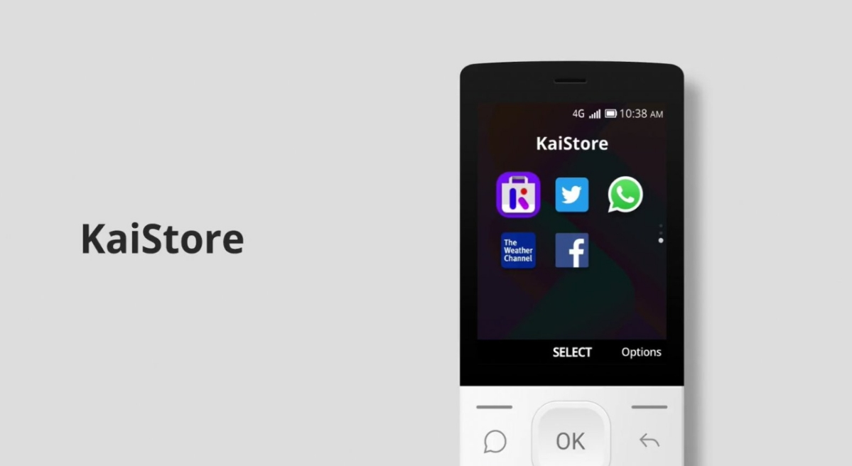 KaiOS Comes With App Store, WhatsApp Finally Coming to