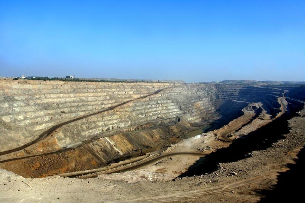Hindustan Zinc Limited's zinc mine in Rampura Agucha, Rajasthan