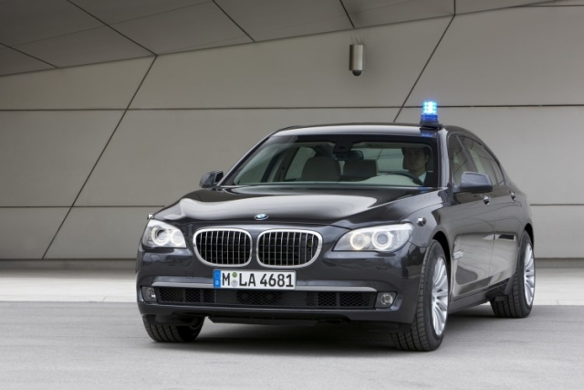 The BMW 7 Series 760 Li (High Security Edition)