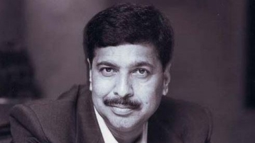 File photo of late BJP leader Pramod Mahajan.