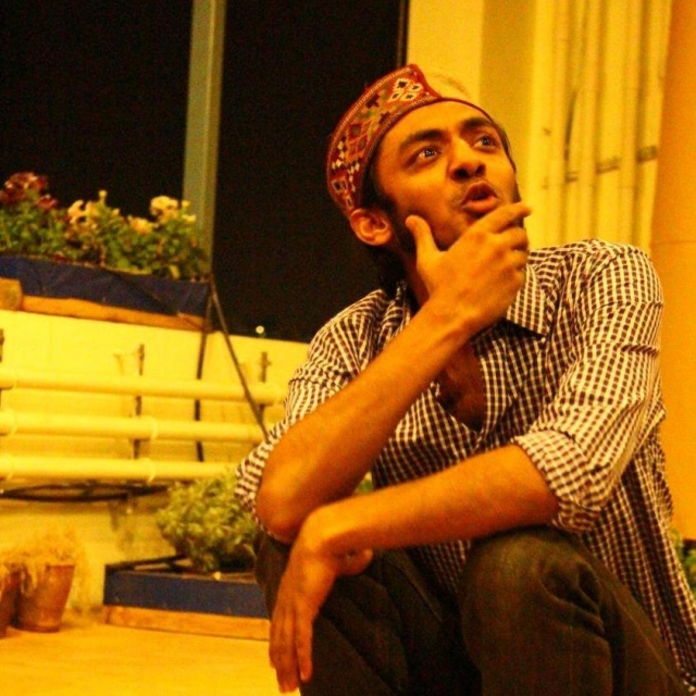 Chadha did his first show in 2011, and by 2012 and 2013, he was already doing solo independent shows.
