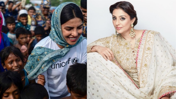 Priyanka Chopra on meets Rohingya Refugees; Tabu joins Salman Khan & Priyanka Chopra For <i>Bharat</i>.