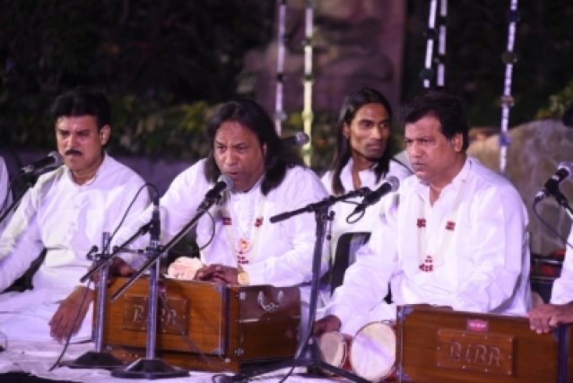 Qutbi Brothers Qawwals at Under The Banyan Tree On a full Moon Night.