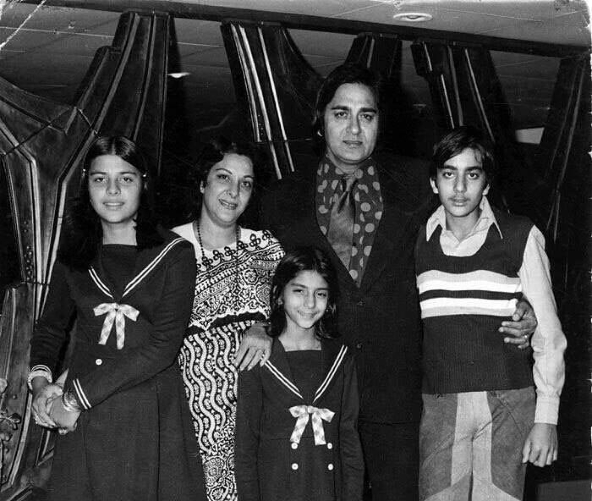 The Dutt family.