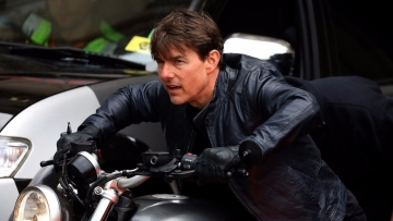 Tom Cruise in <i>Mission Impossible: Fallout.</i>