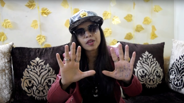 Dhinchak Pooja's video has gone viral with over a million views on facebook