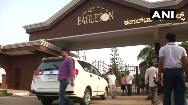 Police forces have been removed from the Eagleton Resort.