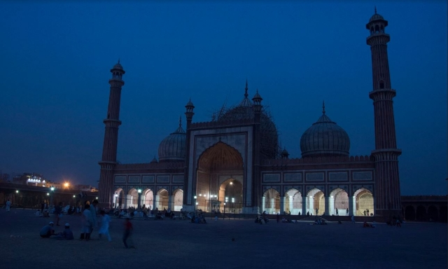 The Jama Masjid in all its glory at the break of dawn.