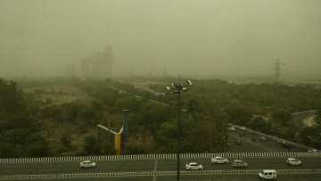 Strong winds and thunderstorm returned to Delhi NCR on Saturday, 19 May.