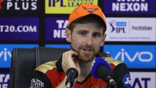 "SRH captain Kane Williamson was left to admire the burly Australian's ""unbelievable"" innings."