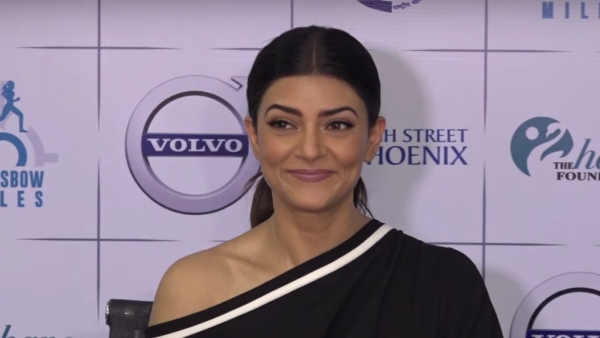 Sushmita Sen at an event about women's safety.