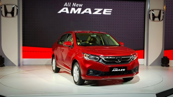 The 2018 Honda Amaze comes in 12 variants.