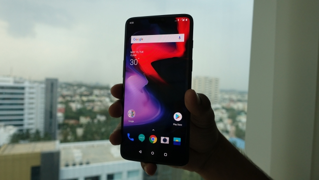 OnePlus 6 centres around gesture-based features.