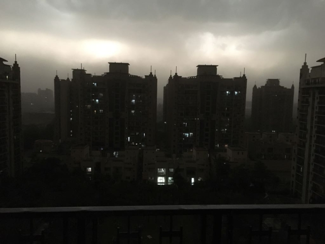 Storm in Greater Noida on 14 May.