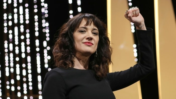 Asia Argento delivered a searing speech at the Cannes closing ceremony.