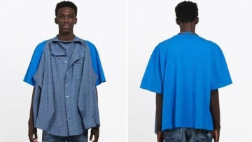 This new 'T-Shirt Shirt' design by Balenciaga costs $1,290