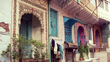 Representational image of an Old Delhi house, featuring Mughal architecture.