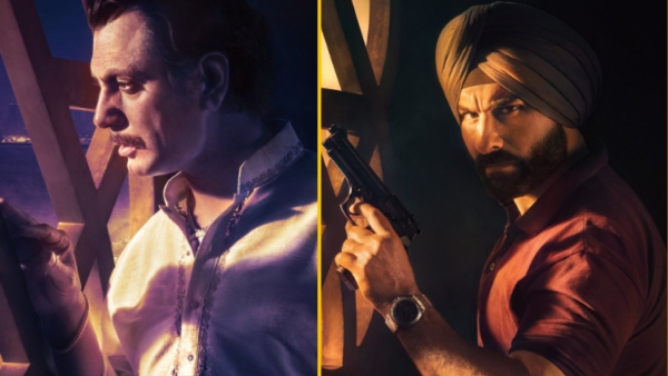 Nawazuddin Siddiqui and Saif Ali Khan star in Netflix's 'Sacred Games'.