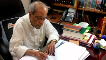 The book titled <i>'The Presidential Years'</i> is Pranab Mukherjee's fourth book with Rupa Publications.