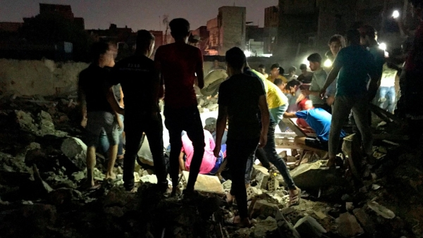 Explosion rocks Sadr City in Baghdad, Iraq on Wednesday, 6 June.
