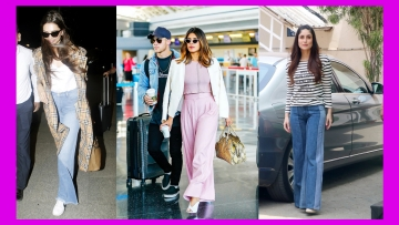 Move over skinny and distressed jeans, as we welcome the wide-leg bottoms that have officially made a comeback, as seen on Deepika Padukone, Priyanka Chopra and Kareena Kapoor.