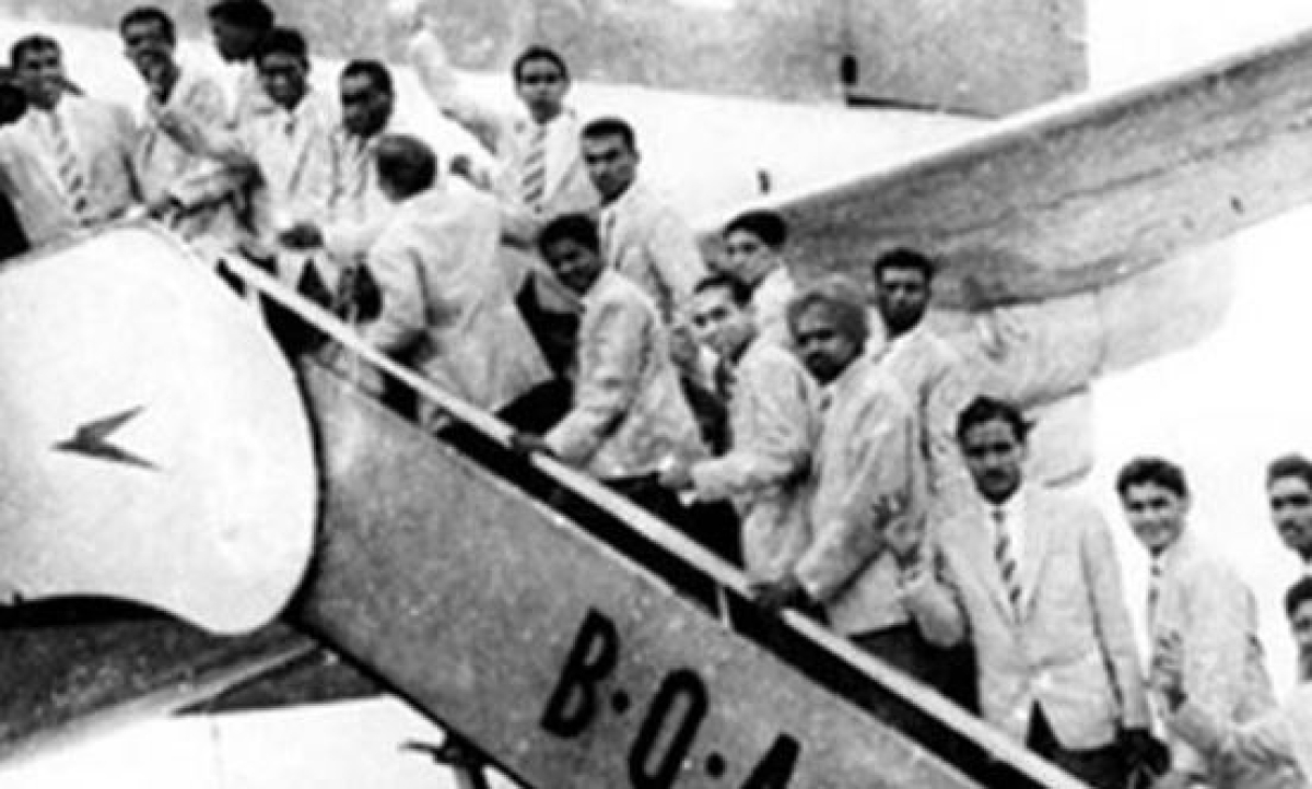 Image result for indian football team 1950 fifa