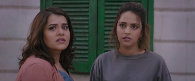 Shikha Talsania and Swara Bhasker in <i>Veere Di Wedding.</i>