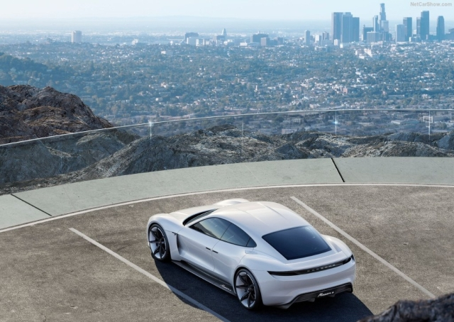 The Mission E Concept was showcased with Suicide doors but the production Taycan will have normal doors.