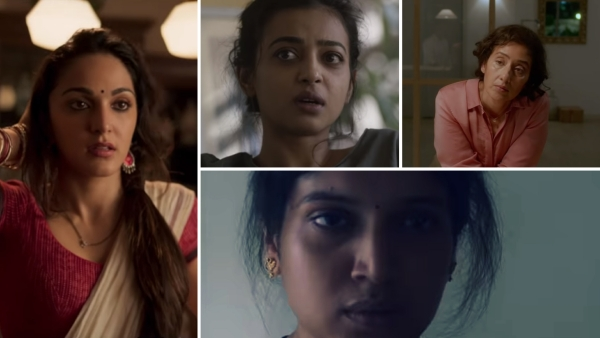 Kiara Advani, Radhika Apte, Manisha Koirala and Bhumi Pednekar in <i>Lust Stories</i>.