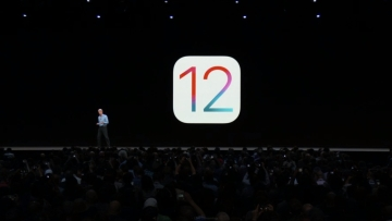 Apple Senior VP Craig Federighi introduces the new iOS 12.
