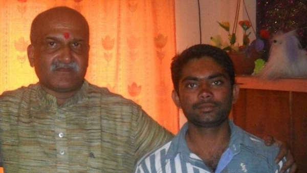 The SIT had arrested Parashuram Waghmore (right), seen in the photograph with Sri Ram Sene Chief Pramod Muthalik (left).