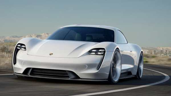The Porsche Mission E Concept will be launched as the Taycan.