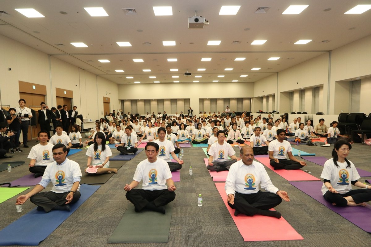 Image result for yoga day 2018