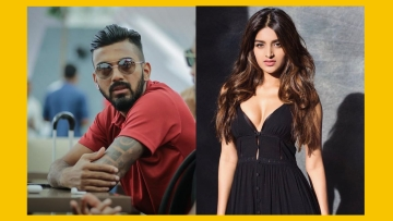 Rumour has it that actor Nidhhi Agerwal is dating cricketer KL Rahul.