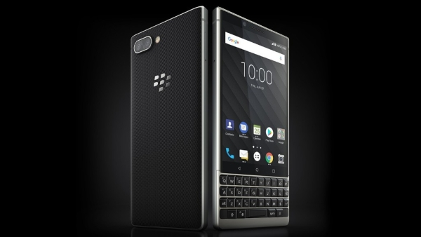 That's the BlackBerry Key2 with keypad.