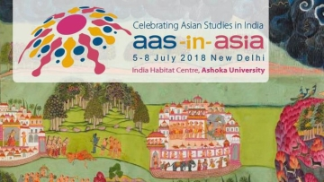 "The <a href=""http://www.aas-in-asia2018.com/"">AAS-in-Asia conference,</a> co-organised with Ashoka university is scheduled to take place from 5 to 8 July in the capital."