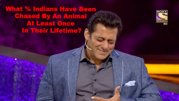 Salman Khan on <i>Dus Ka Dum. </i>