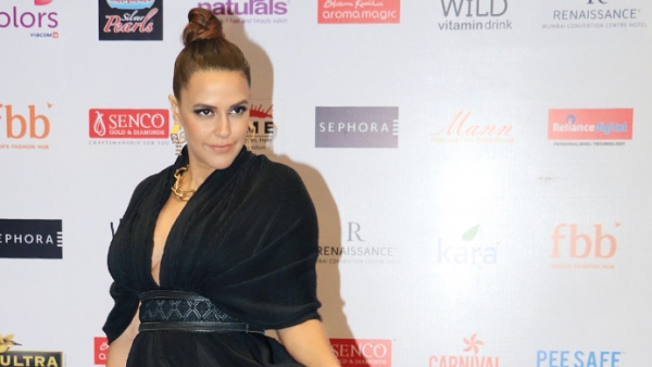 Neha Dhupia at the Miss India pageant finale.